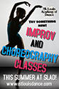 Improv and Choreography Class