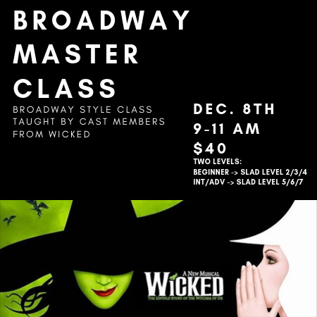 MASTER CLASS - Wicked